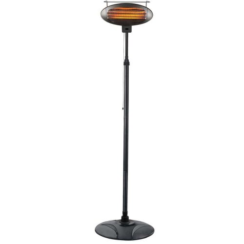 1500-watt Free Standing Infrared Electric Patio Heater