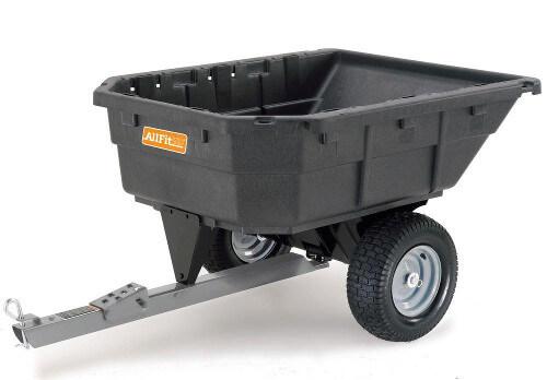 AllfitHD Poly Swivel Dump Cart