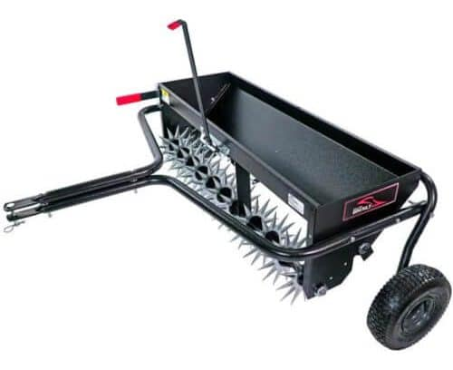 Brinly-Hardy Tow-Behind Aerator-Spreader