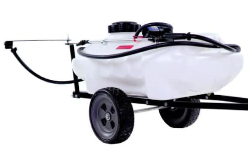 Brinly-Hardy Tow-Behind Self-Storing Lawn Sprayer