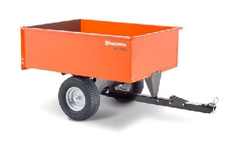 Husqvarna Steel Swivel Dump Cart