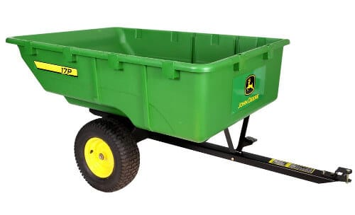 John Deere Tow-Behind Poly Utility Cart