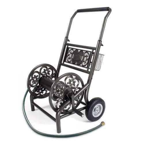 Liberty Garden Decorative 2 Wheel Hose Cart