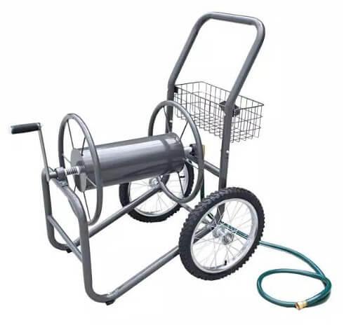 Liberty Garden Industrial 2-Wheel Hose Reel Cart