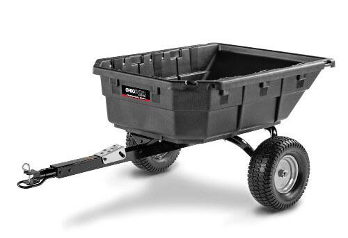 Ohio Steel Professional Grade Swivel Dump Cart
