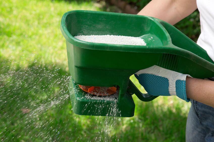 granual lawn fertilizer